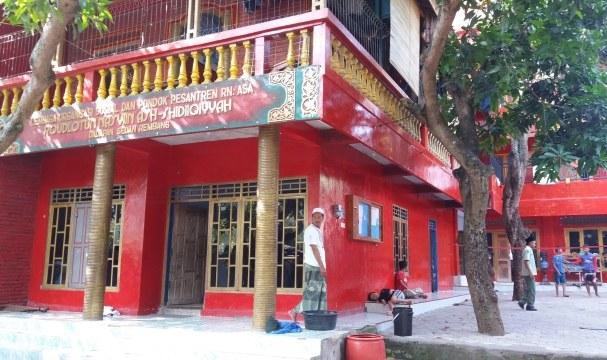 Pesantren Raudlatun Nasyi'in Ash-Shidiqiyah Rembang, Pesantren Bergaya Pecinan