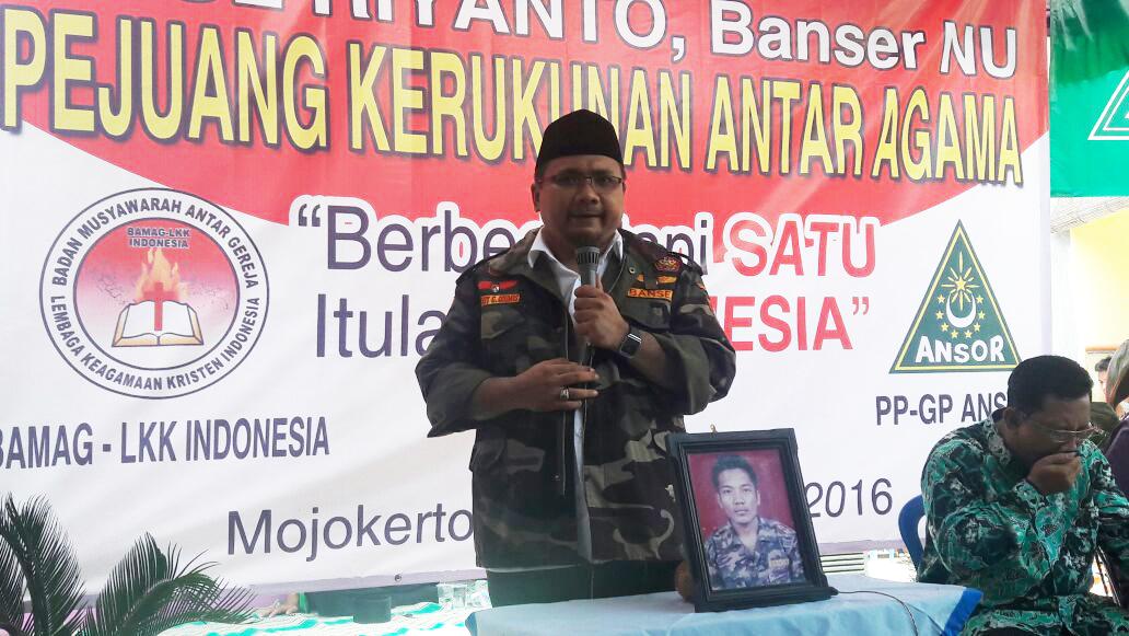 Orasi Ketua Umum PP GP Ansor  Pada Haul ke-16 Riyanto