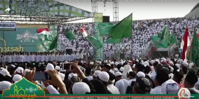 indonesia raya dalam istighotsah