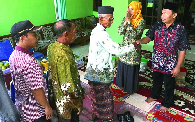 Di Buduran, Open House Membahas Problem Umat