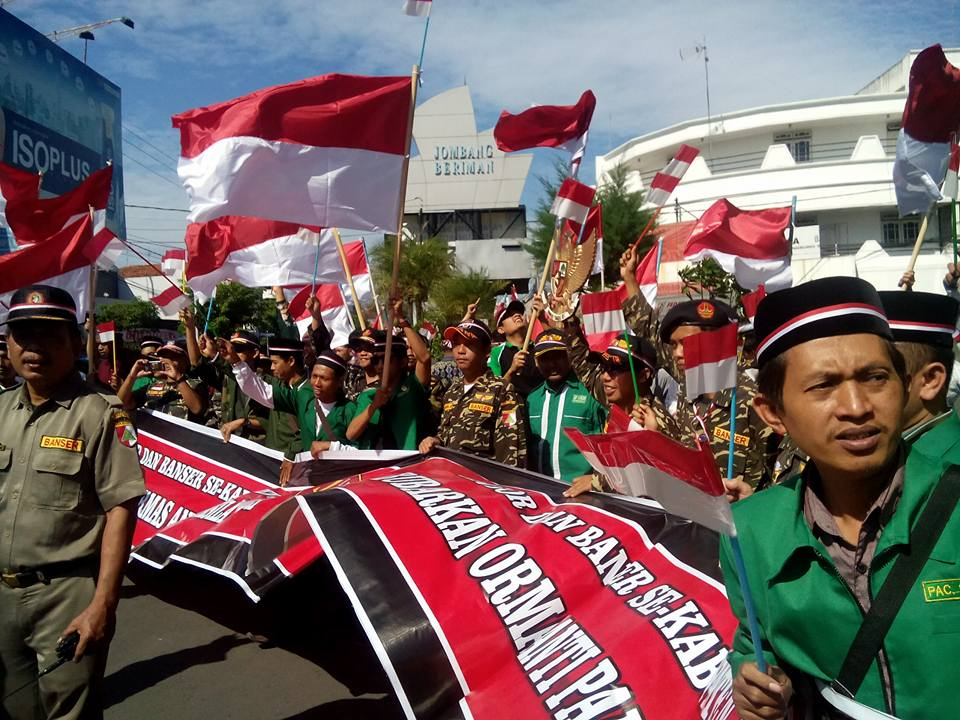 Ormas di Jombang Dukung Perppu No 2/2017 dan Tolak Khilafah