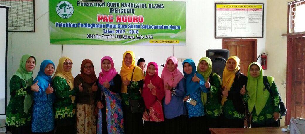 Tingkatan Mutu Guru, Pergunu Jombang Selenggarakan Pelatihan