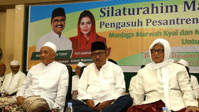 Mantan Gubernur Jatim Satu Barisan Para Masyayikh Sambut Pilgub