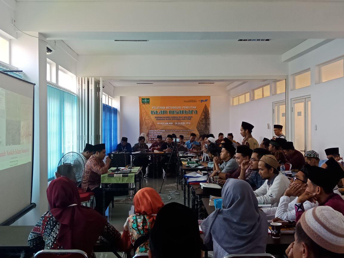 LTN NU Jatim Adakan Pelatihan Metodologi Penelitian Islam Nusantara