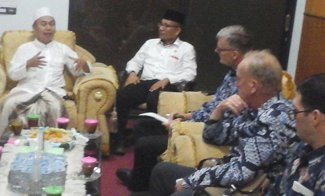 Australia Indonesia Institute Jajaki Kerja Sama dengan NU