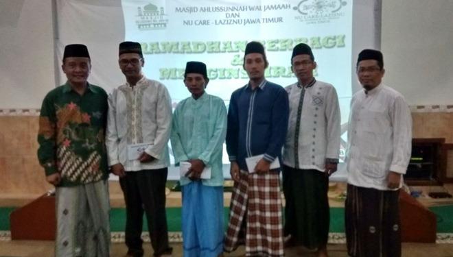 LazisNU Kembangkan Dakwah Kado Cinta Ramadhan