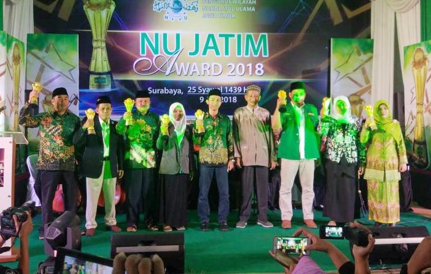 Raih Juara Utama, Sidoarjo Borong Hadiah NU Jatim Award 2018
