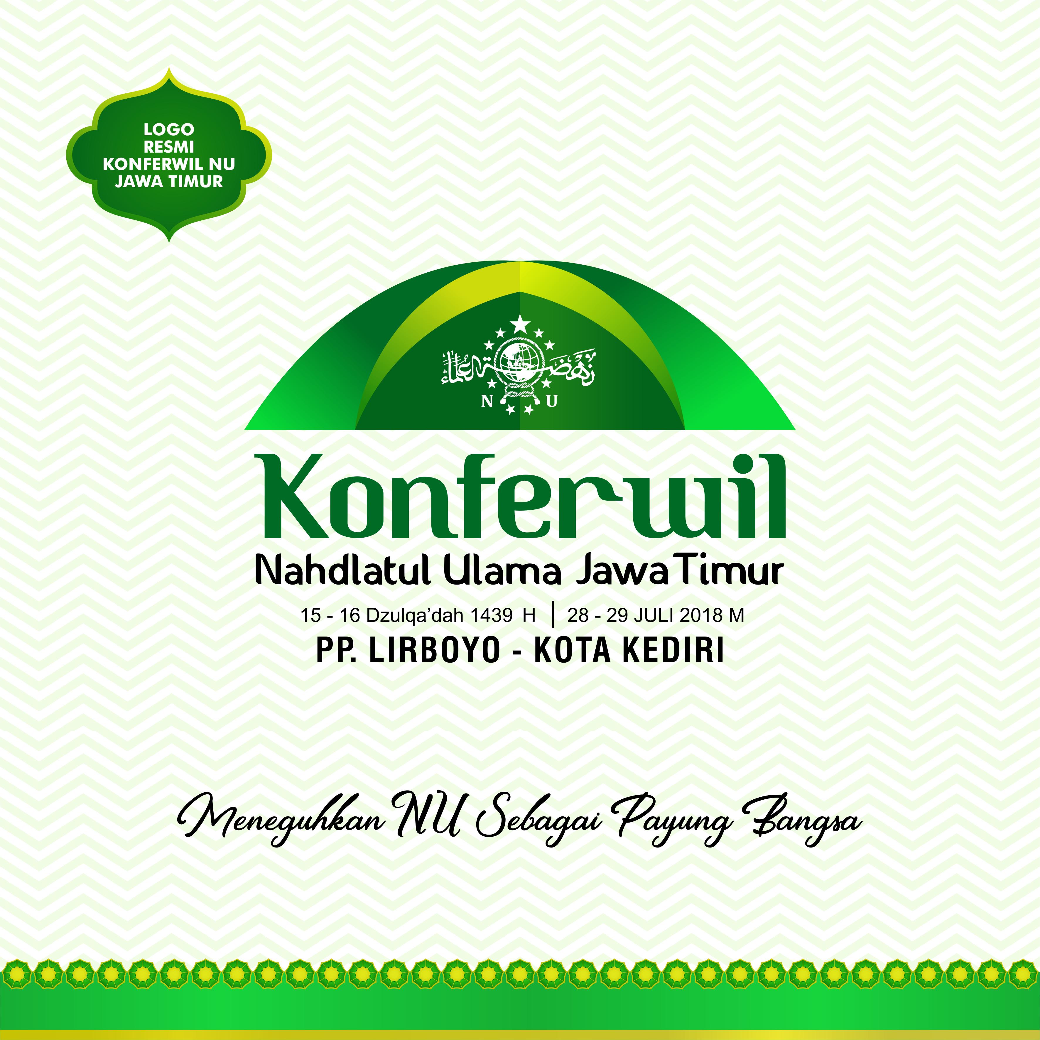 Logo Resmi Konferwil PWNU Jawa Timur