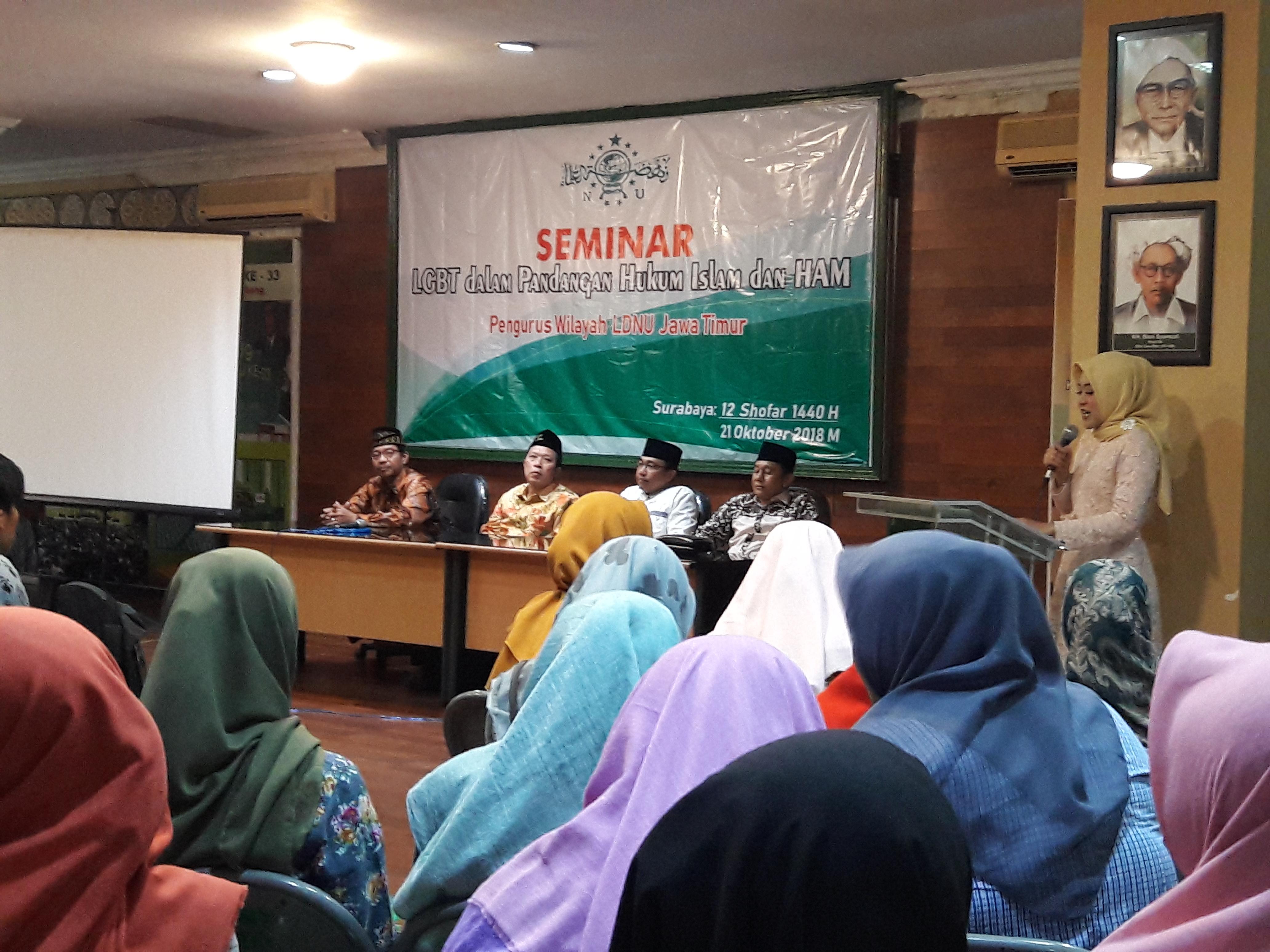 PW LDNU Jawa Timur Bahas LGBT
