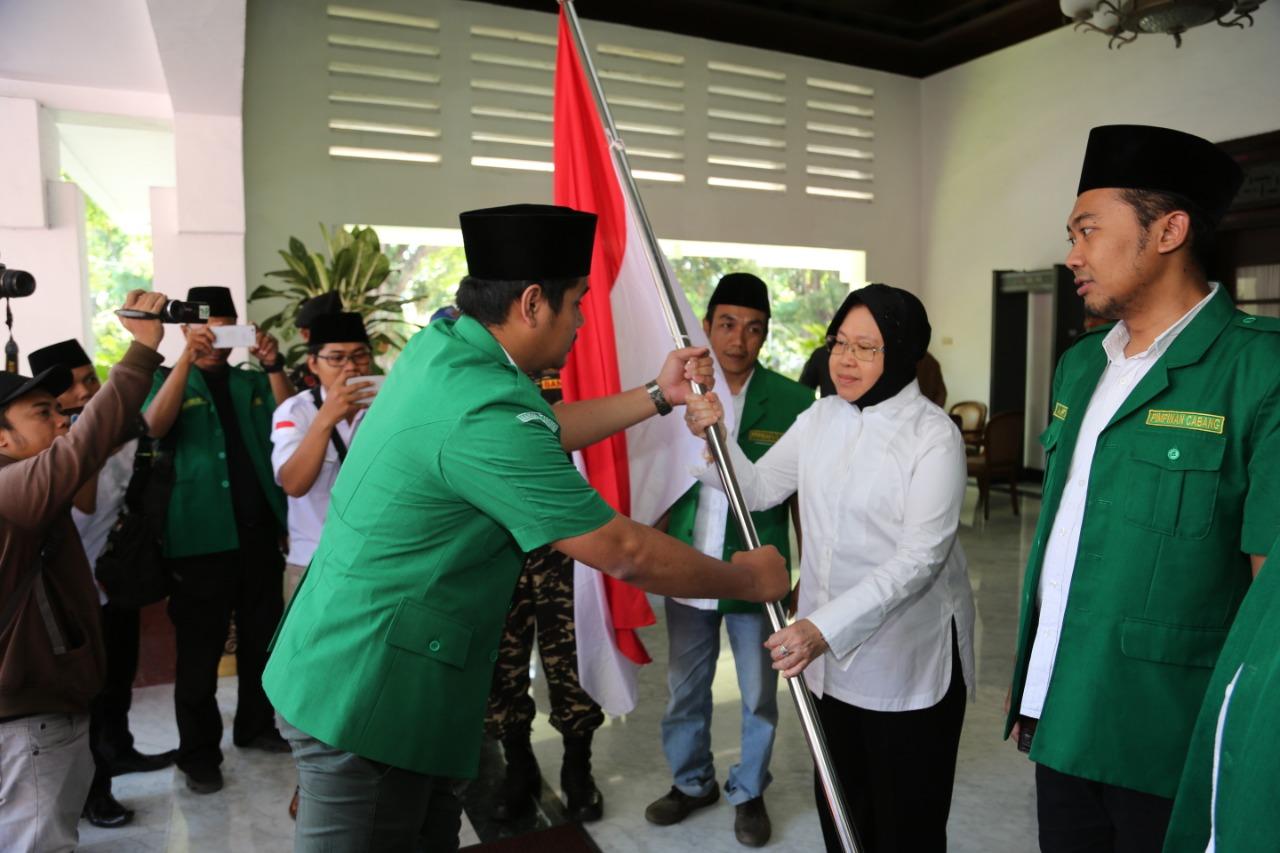 Terima Kirab Satu Negeri, Wali Kota Surabaya Akui Perjuangan Ansor