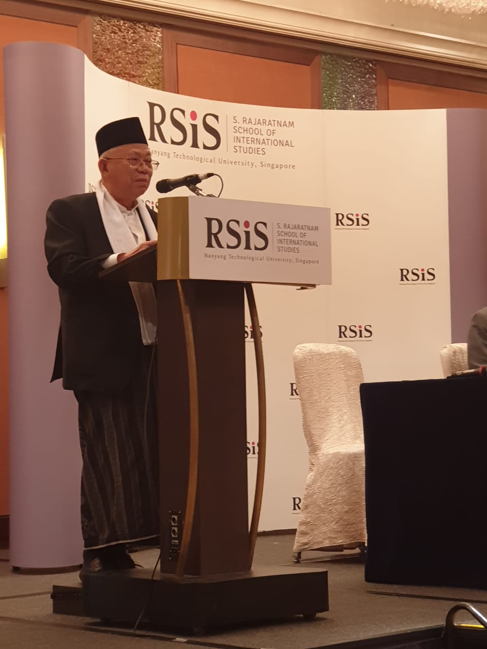 Kiai Ma'ruf Amin di Singapura, Promosikan Islam Ramah