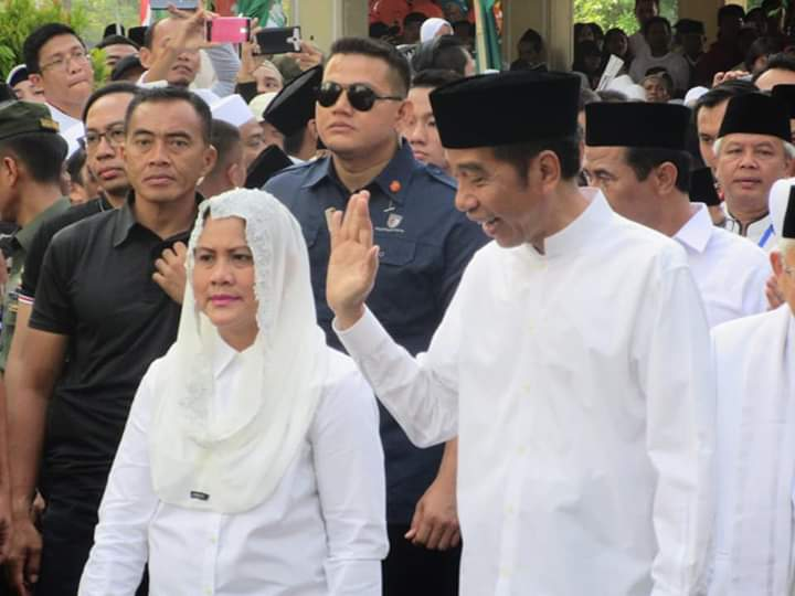 Jokowi Kirab Hari Santri, Persegar Semangat Sumpah Pemuda