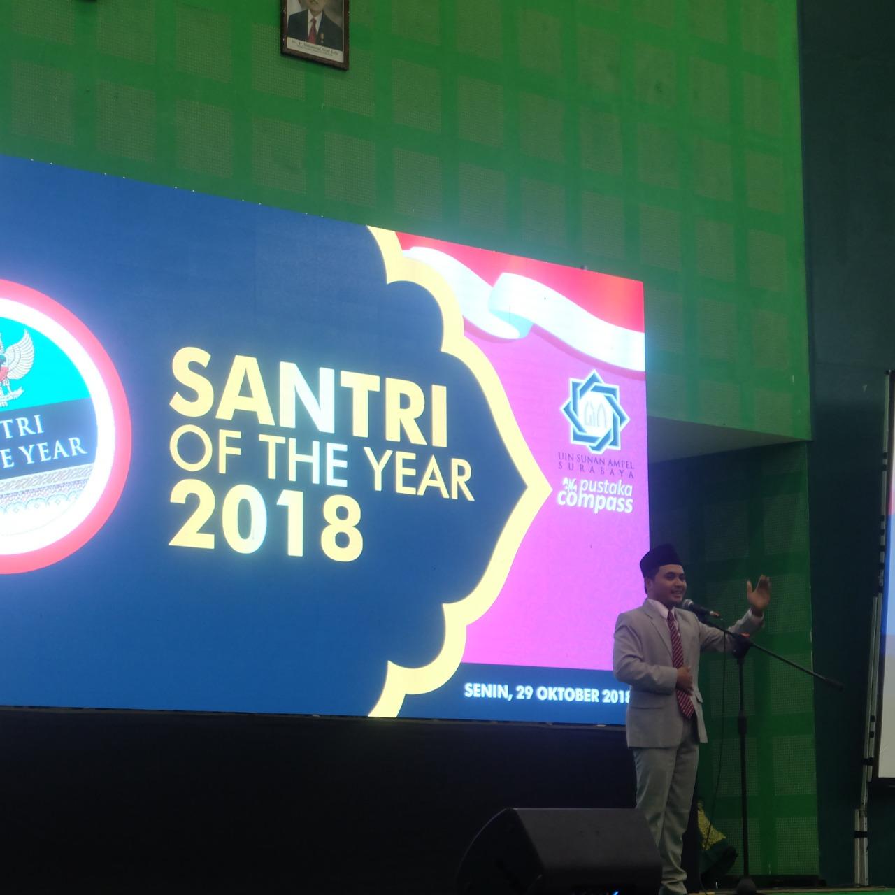 Inilah Daftar Jawara Santri of The Year 2018 di Gelar di Surabaya