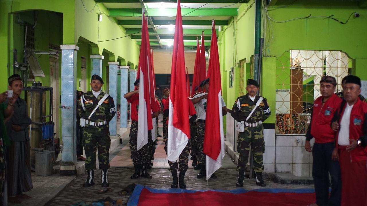 17 Pataka Merah-Putih Tiba di Tabanan Bali, Ansor Kirab Satu Negeri