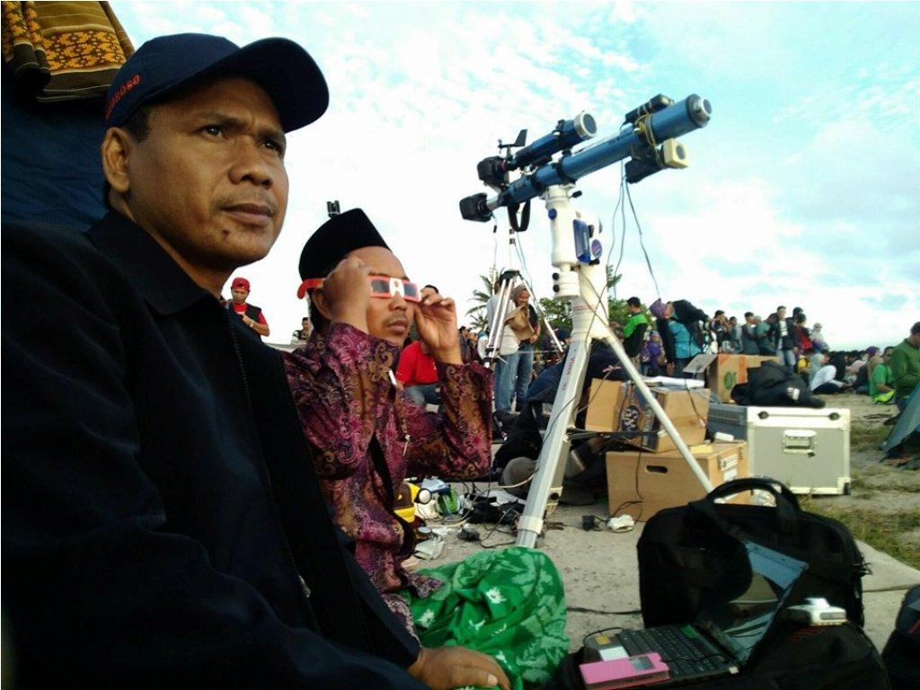 Melebihi Ekspektasi, Peserta Diklat LF PWNU Jatim Berhasil Rakit Puluhan Teleskop