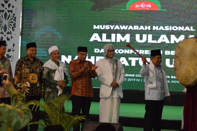 Wapres JK Resmi Tutup Munas-Konbes NU di Banjar