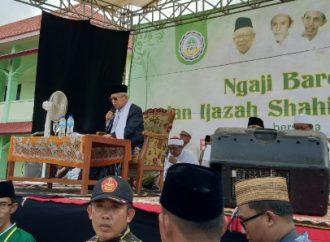 KH Ma'ruf Amin Beri Ijazah Kitab Shahih Bukhari di Sumenep