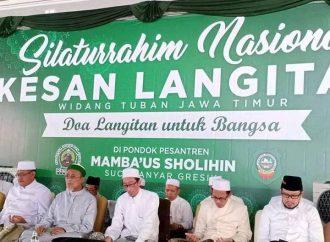 Santri-Alumni Langitan Gelar Doa Bersama