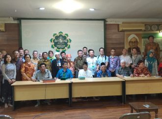 Peserta Konferensi Internasional Zhenghe Kunjungan PWNU Jawa Timur