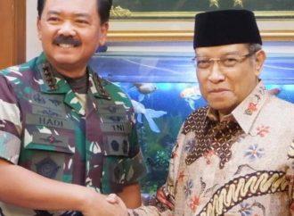 Jaga Komitmen Kebangsaan, Panglima TNI Silaturahmi PBNU