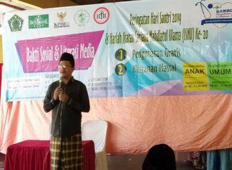 ISNU Kabupaten Kediri Gelar Bakti Sosial Rayakan Hari Santri 2019
