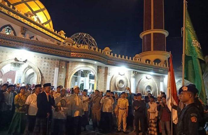 PCNU Bangkalan Gelar Kirab Resolusi Jihad, Sambut Pelantikan Presiden-Wapres