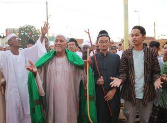 Ulama Sufi Sudan dan Nahdliyin Meriahkan Maulid Nabi