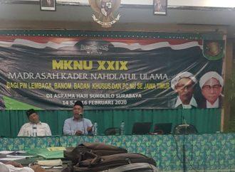 Ketua PWNU Jawa Timur Perjelas Syarat Menjadi Warga NU Sejati