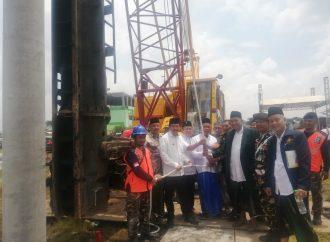 Peringati Harlah ke-97, NU Sidoarjo Letakkan Batu Pertama Masjid KH Hasyim Asy'ari