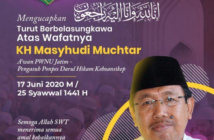 NU Jawa Timur Berduka, KH Mashudi Muchtar Menghadap ke Rahmatullah