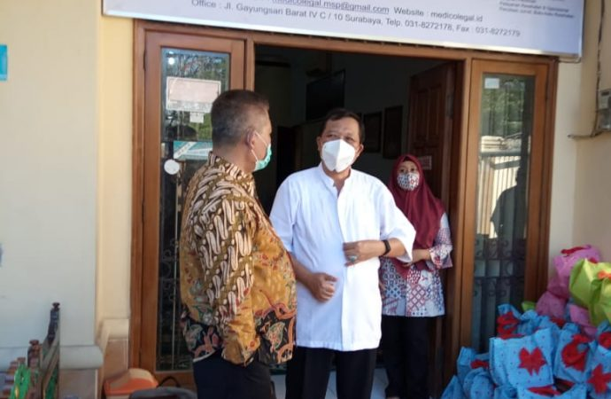 Dua Kader NU Dirikan Medico Legal, Peduli Problem Umat di Tengah Pandemi Covid-19