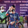Wadah Sehat Bagikan 1.000 Masker dan 1.000 Faceshield, Gowes Kampanye Cegah Covid-19