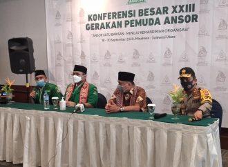 Konbes GP Ansor di Minahasa, Yusra Alhabsyi: Perketat Protokol Covid-19