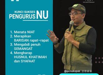 Gus Amak: Ada Empat Kunci Sukses Pengurus NU
