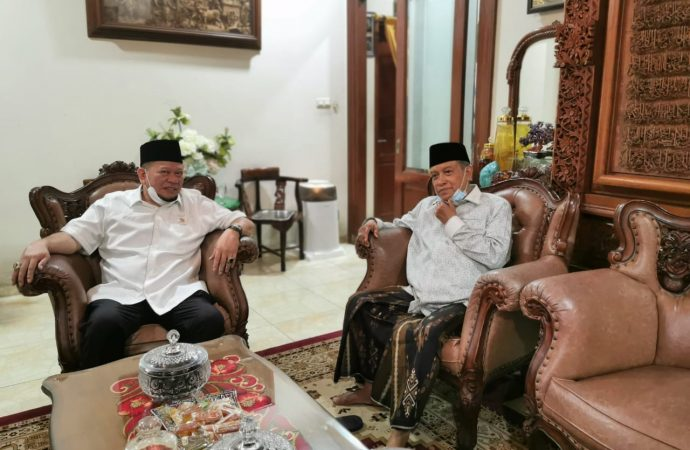 Jelang Reses, Ketua DPD RI Temui Ketum PBNU Bicara Kebangsaan