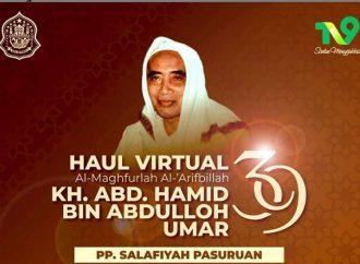 Sukseskan Haul Virtual Kiai Hamid, PT Telkom Siapkan Koneksi Internet di 40 Masjid, TV9 Sediakan Akses Multiplatform.