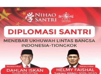 Kuatkan Relasi Indonesia-Tiongkok, Ini Peran NU dalam Diplomasi Santri