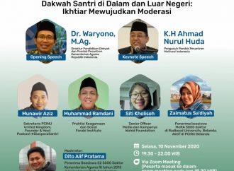 Dakwah Santri, Ikhtiar Mewujudkan Moderasi Islam