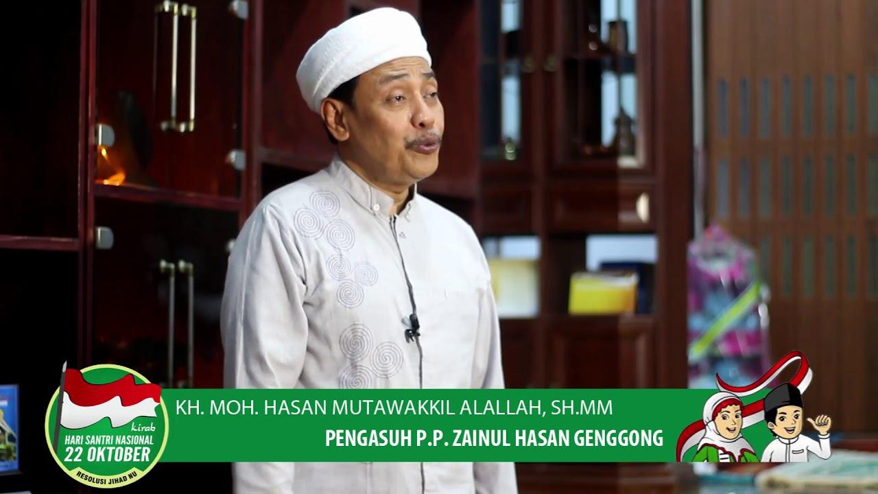 SURABAYA-- KH Muhammad Hasan Mutawakkil Alallah, Pengasuh Pondok Pesantren Zainul Hasan Probolinggo