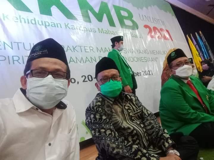 Prof Mas'ud Pompa Semangat Mahasiswa Baru UNUSIDA